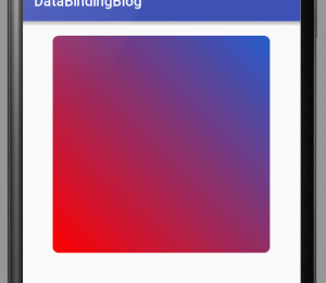 Shape drawable demo (reduce APK size)